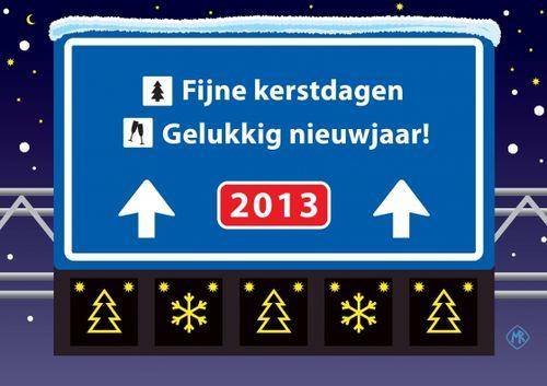Nieuwjaarswensen 2013