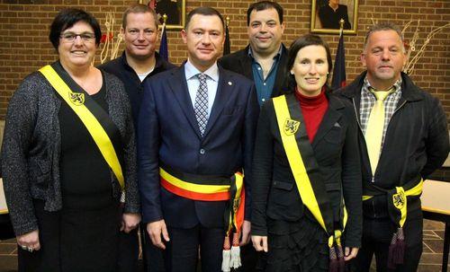 College Burgemeester en Schepenen Glabbeek
