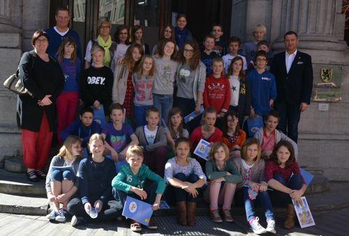 Bezoek school Glabbeek aan Parlement 040b