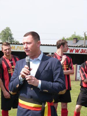 Huldiging voetbal Bunsbeek 3