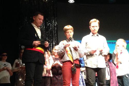 Prijsuitreiking school Bunsbeek