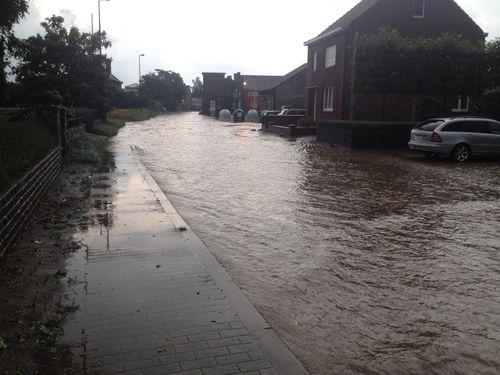 Wateroverlast Glabbeek 2