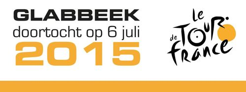 Tour de France Glabbeek banner