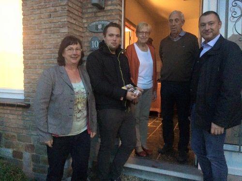 Huisbezoeken Dorpspartij Bunsbeek