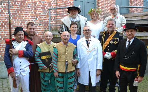 Cast tijdreis doorheen de geschiedenis van Glabbeek 014b