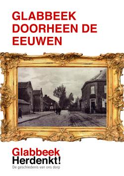Cover Glabbeek doorheen de eeuwen lage resolutie