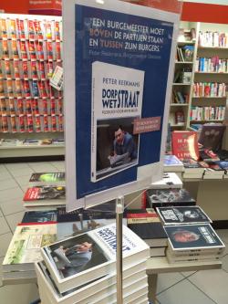Boek in boekhandel