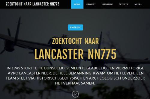Website zoektocht Lancaster