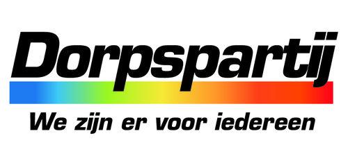 Dorpspartij logo we zijn ervooriedereen