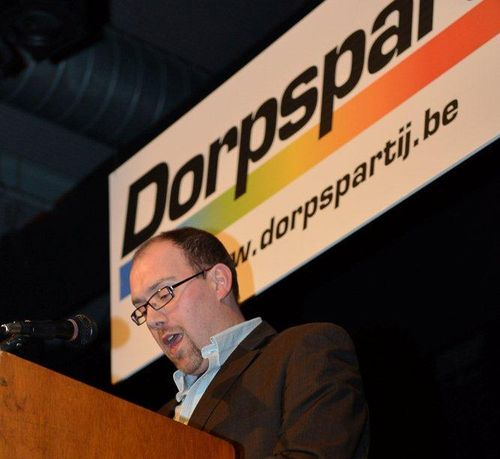 Wim Uytterhoeven toespraak close up