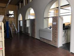 Vernieuwing gemeentehuis verfwerken foto 1
