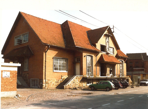 Gemeentehuis Glabbeek 1987 foto 1a