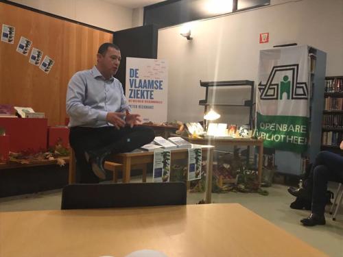 Lezing bibliotheek burgemeester Peter Reekmans
