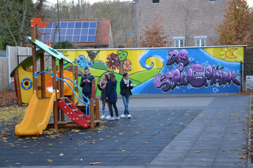 Grafitti gemeenteschool