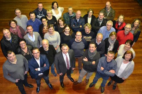 Dorpspartij bestuur groepsfoto 034c