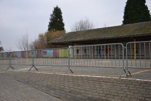 Dak asbest school Bunsbeek 001