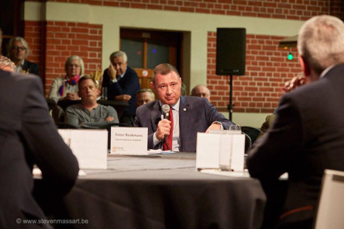 Burgemeester @ debat VOKA foto 5