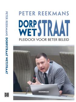 Cover boek Peter Reekmans Dorpstraat - Wetstraat b
