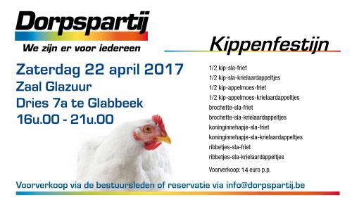 Kippenfestijn 2017 14euro