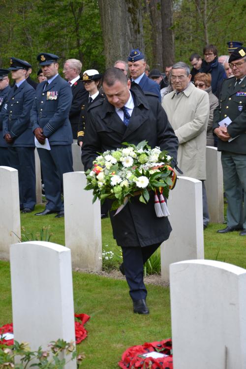 Begrafenis bemanning Lancaster NN775 020