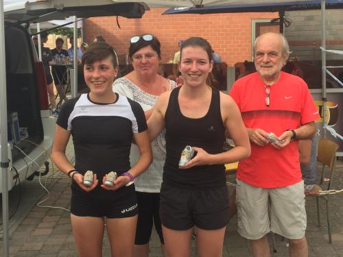 Glabbeek Loopt winnaars 10 km dames 2017