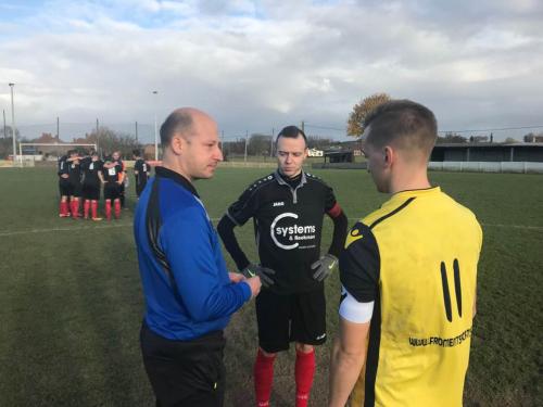 Matchbal Peter Reekmans voetbal Bunsbeek 19 11 17