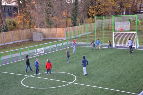 Sportkooi in gebruik 2