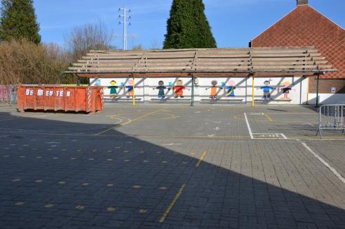 Asbest school containerpark en pompstation Bunsbeek febr 2018 025