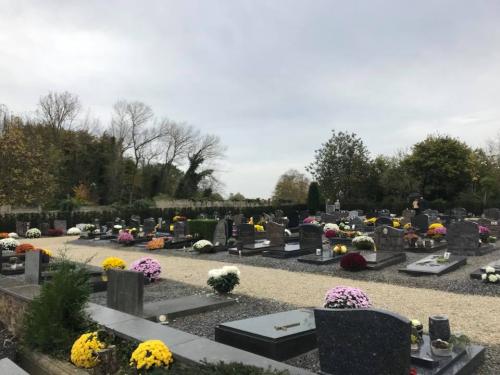 Nieuw kerkhof Bunsbeek nov 2017