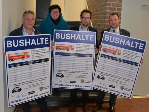 Lancering actie veilig vervoer oud op nieuw Glabbeek