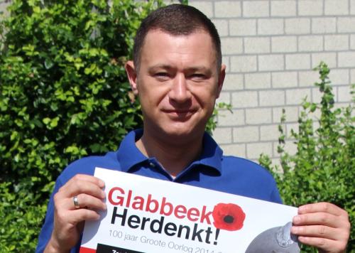 Glabbeek herdenkt einde WO I voorstelling affiche