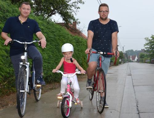 Peter en Simon nieuwe fietspaden