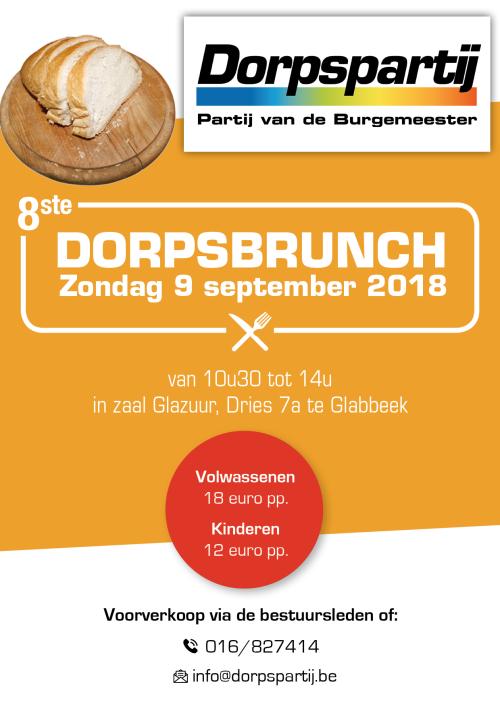 Uitnodiging dorpsbrunch 2018
