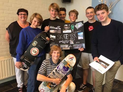 Inspraakvergadering skatepark