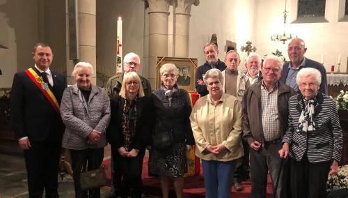 75 jarige herdenking met families Denruyter Laermans en Lambrechts foto 2