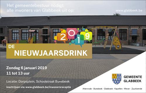 Nieuwjaardrink gemeente 2019
