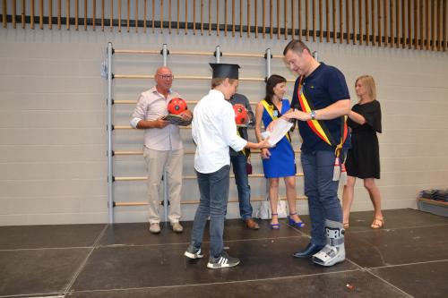 Diplomauitreiking 6de jaars lagere school Glabbeek 2018 028