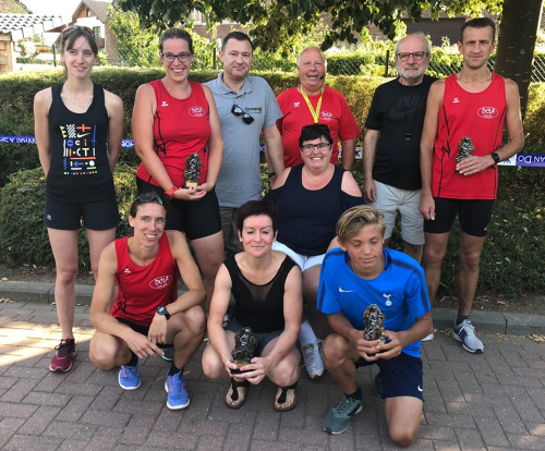 Glabbeek Loopt 2018 winnaars