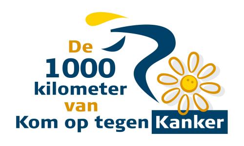 1000 km fietsen tegen Kanker