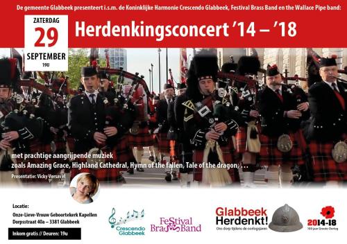 Herdenkingsconcert 14 18