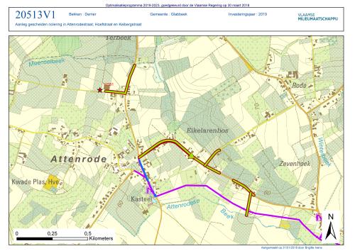 Plan collector Attenrode deel 1