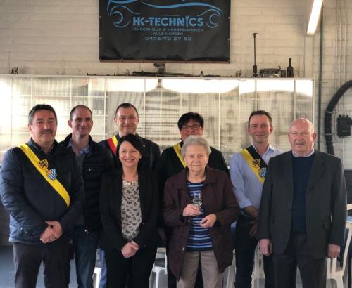 Opening garage Hans Keysen Bunsbeek