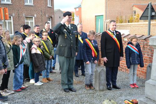 Glabbeek Herdenkt 11 11 2018 066