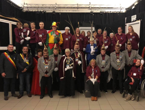 CV De Gildegarde Glabbeek start carnavalseizoen november 2018