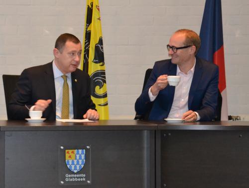 Bezoek minister Ben Weyts aan Glabbeek 013
