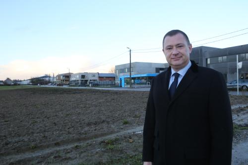 Burgemeester aan KMO zone
