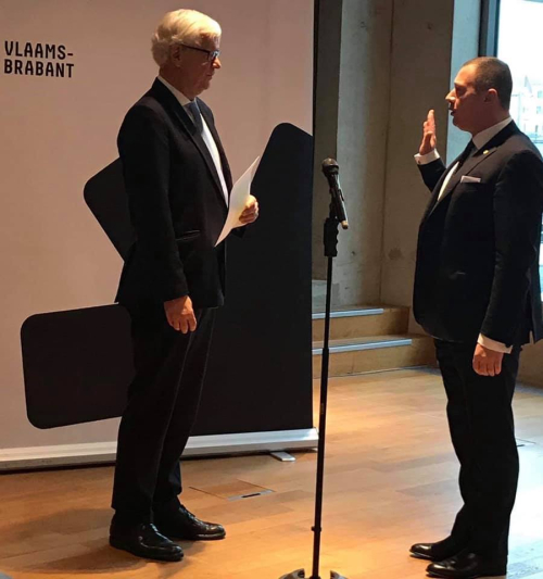 Eedaflegging burgemeester Peter Reekmans 21 december 2018
