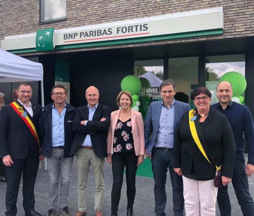 Opening nieuwe bank Fortis Glabbeek