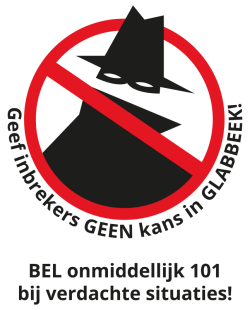 Stop inbraken in Glabbeek