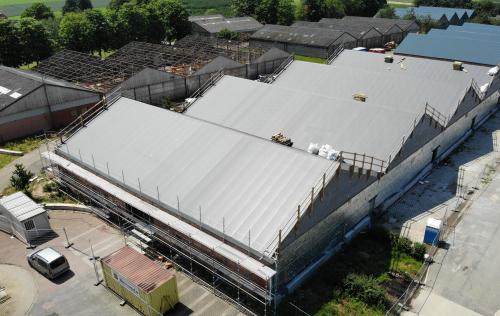 Renovatie gemeentelijk domein asbest